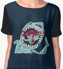 Ocean Has Teeth Women's Chiffon Top