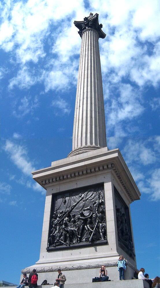 Nelsons Column by Nathan Walker