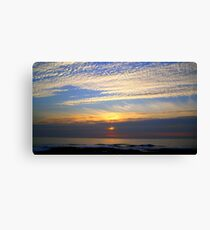 Autumn Sky~Sea Scapes Canvas Print
