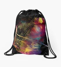 Violoncello art 1 #violoncello #cello #music Drawstring Bag