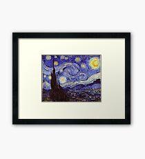 Vincent Van Gogh Starry Night Framed Print