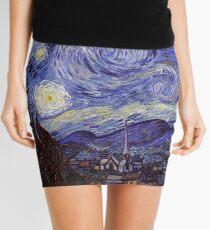 Minifalda Vincent van Gogh noche estrellada