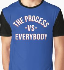 The Process vs Everybody 3 Graphic T-Shirt