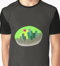 Radioactive City Graphic T-Shirt