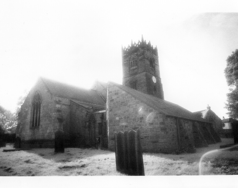 Infrared Church 2 by Nathan Walker
