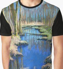 Spring Creek. Deer Lake Park Graphic T-Shirt