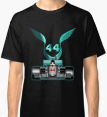 Lewis Hamilton on his car Classic T-Shirt