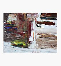 Abstract Original Oil Painting Print Photographic Print