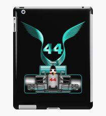 Lewis Hamilton on his car iPad Case/Skin