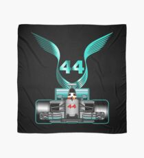 Lewis Hamilton on his car Scarf