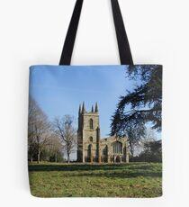 Canons Ashby Church Tote Bag