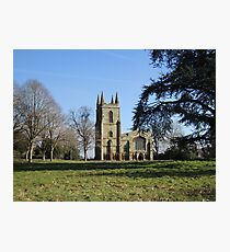 Canons Ashby Church Photographic Print