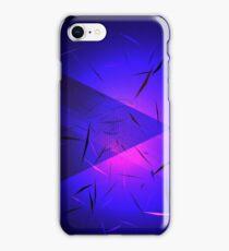 Urban Abstract Triangular Neon iPhone Case/Skin