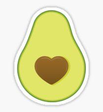 I Love Avocado Sticker