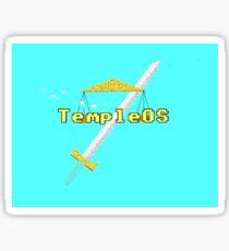 TempleOS New Sticker