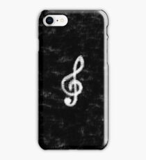 Airbrush Treble Clef iPhone Case/Skin