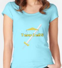 TempleOS New Women's Fitted Scoop T-Shirt
