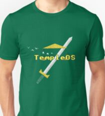 TempleOS New Slim Fit T-Shirt
