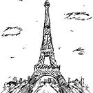 Paris Tower by pda1986