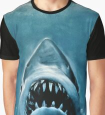 JAWS SHARK Grafik T-Shirt