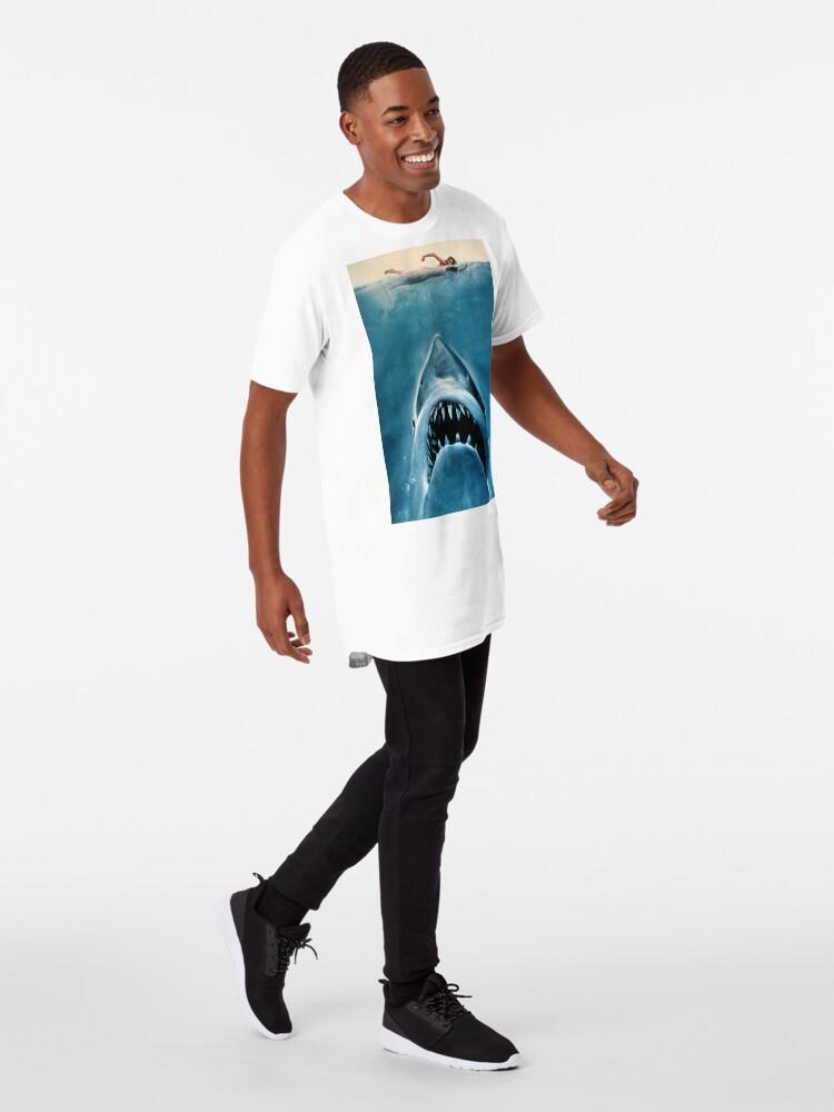 Alternative Ansicht von JAWS SHARK Longshirt