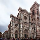 Cathedral of Saint Mary of the Flower - Florence - Italy by Yannik Hay