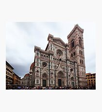 Cathedral of Saint Mary of the Flower - Florence - Italy Photographic Print