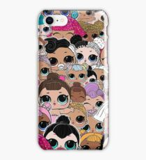Lil Sisters Surprise iPhone Case/Skin