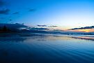 Raumati Beach NZ  by Christine Wilson