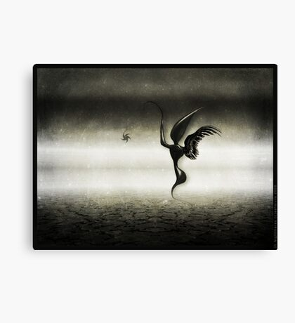 In Nightmares Canvas Print