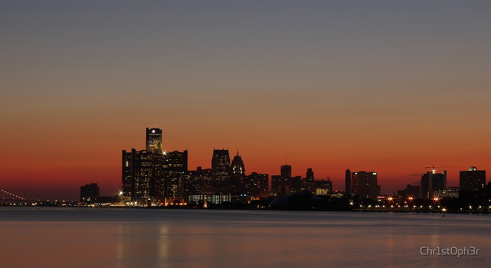 Downtown Detroit by Chr1st0ph3r