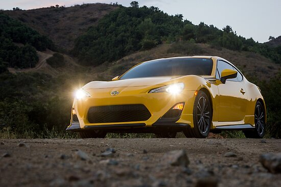Scion Trd Frs Posters By Carandphoto Redbubble