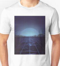 80s retro vaporwave blue ocean edition T-Shirt