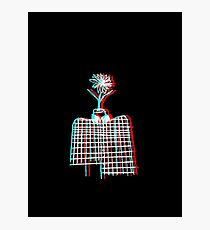 3D OBJECT HEAD Photographic Print