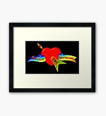 Tom Petty and The Herthbreakers Framed Print