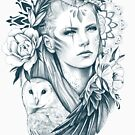Eule Geist von Emilie Desaunay