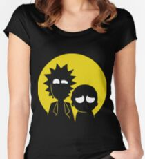 Schwifty Women's Fitted Scoop T-Shirt