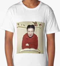 Simone de Beauvoir - Stylized Long T-Shirt