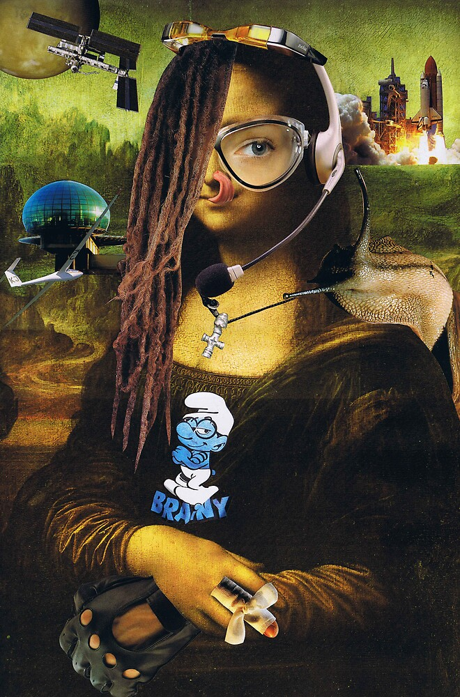 Mona Lisa 2645....... by atomikboy