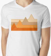 Orange Mountains #redbubble #decor #buyart T-Shirt