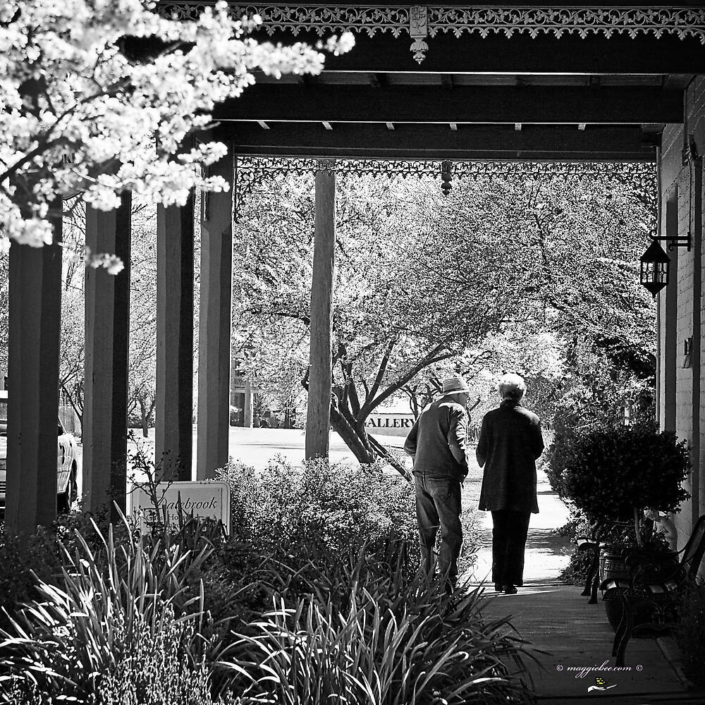 Spring Stroll by Maggiebee