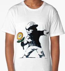 The Mario Flower Chucker Long T-Shirt