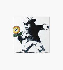 The Mario Flower Chucker Art Board