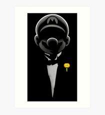 Super formal Mario Art Print