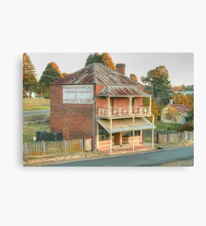 Northeys of Hill End Canvas Print