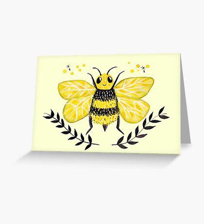 Wattle it Bee?  Greeting Card