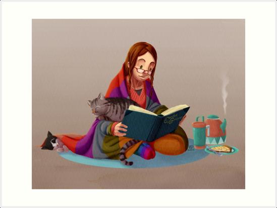 The reader V2 by Valériane Duvivier