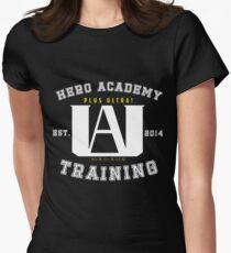 My Hero Academia University Logo Women's Fitted T-Shirt