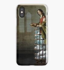 cover her briefness in singing iPhone Case/Skin
