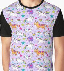 Unicorns, caticorns Graphic T-Shirt